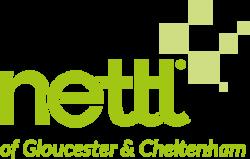 Nettl of Gloucester & Cheltenham logo green