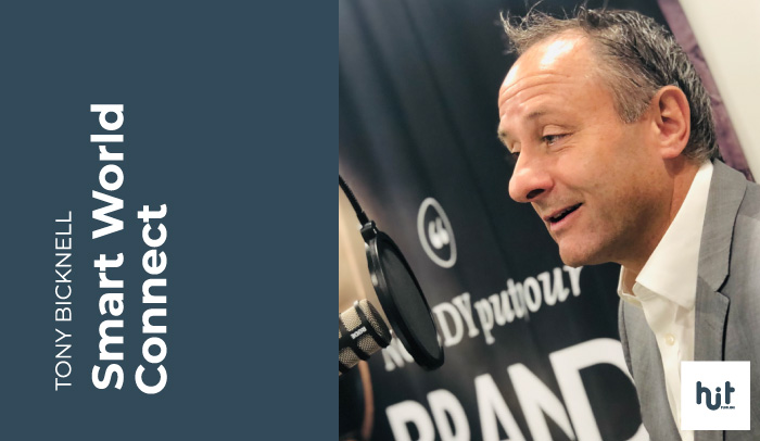 Tony Bicknell CEO of Smart World Connect on the Hit Publish Podcast