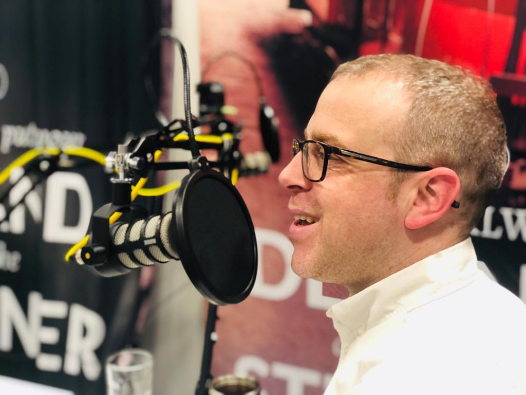 Chris on the Hit Publish podcast StreetPin episode by Nous Digital in Gloucester